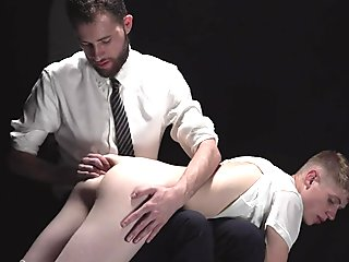 MissionaryBoys - Cute Mormon Boy Gets His Ass Spanked