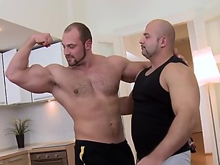 Horny dude is giving stud a lusty jock sucking experience